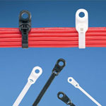 Clamp Ties with Steel Barb